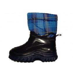 Lux blu scozzese stivale...